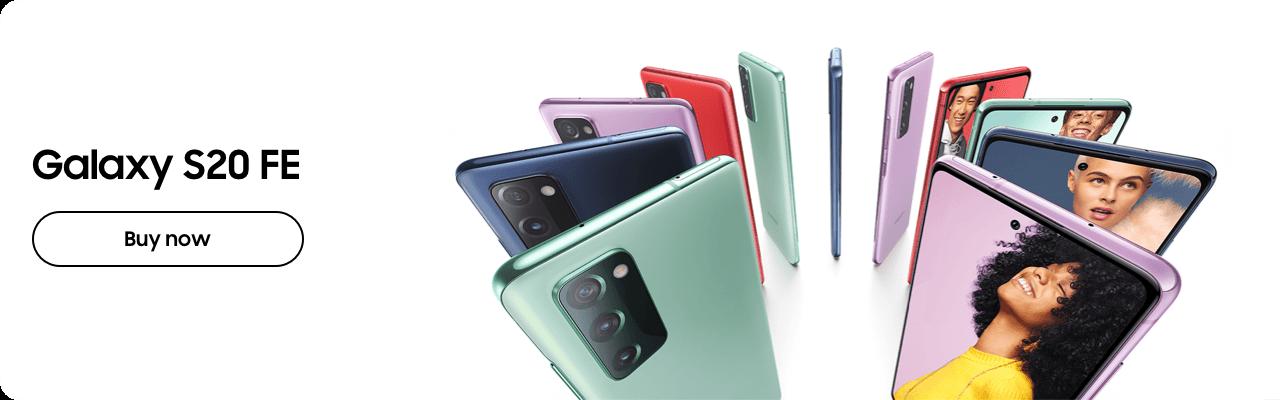 Galaxy S20 FE - Buy now